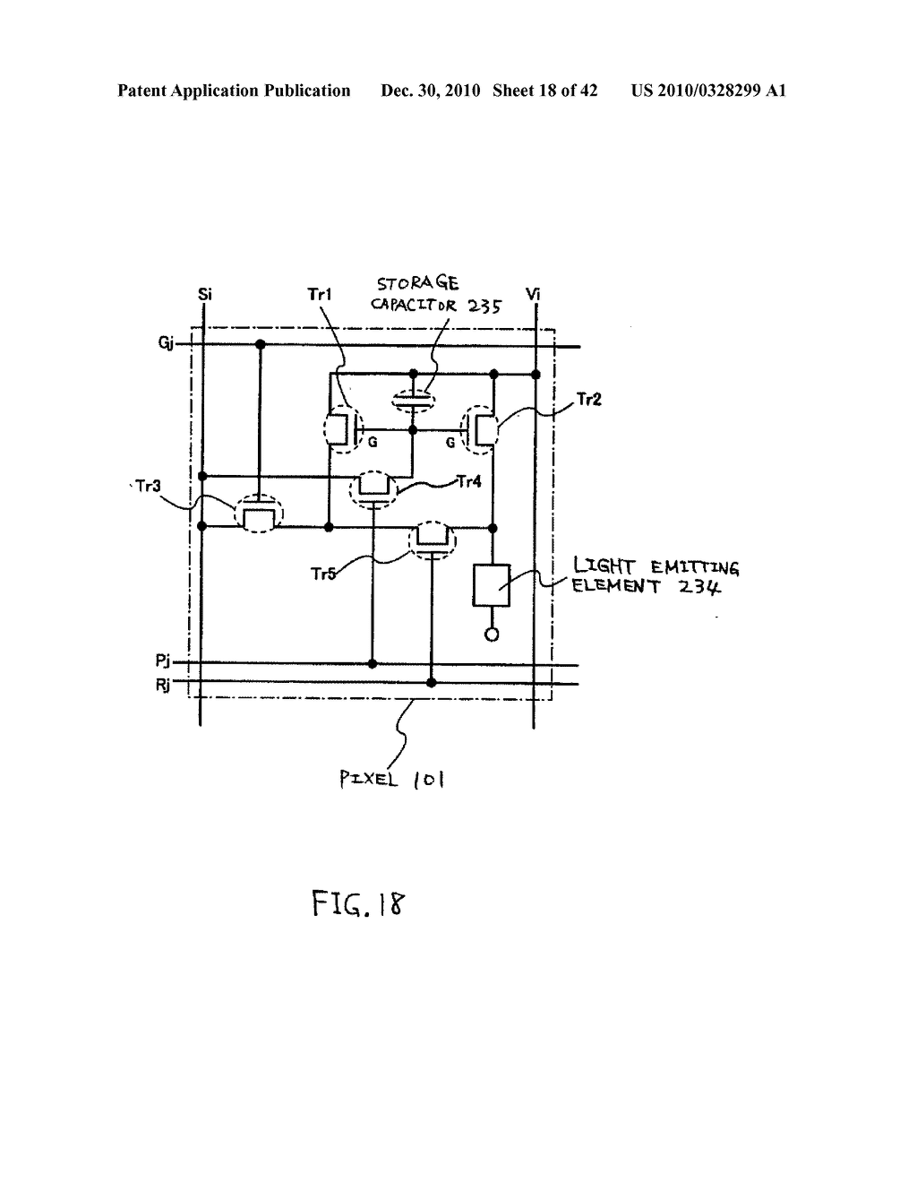 LIGHT EMITTING DEVICE, DRIVING METHOD OF LIGHT EMITTING DEVICE AND ELECTRONIC DEVICE - diagram, schematic, and image 19