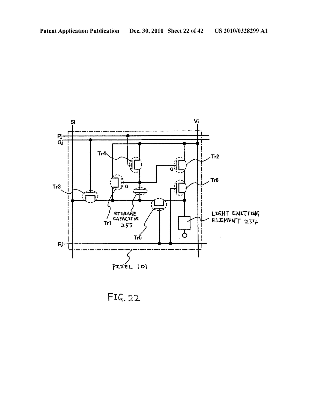 LIGHT EMITTING DEVICE, DRIVING METHOD OF LIGHT EMITTING DEVICE AND ELECTRONIC DEVICE - diagram, schematic, and image 23