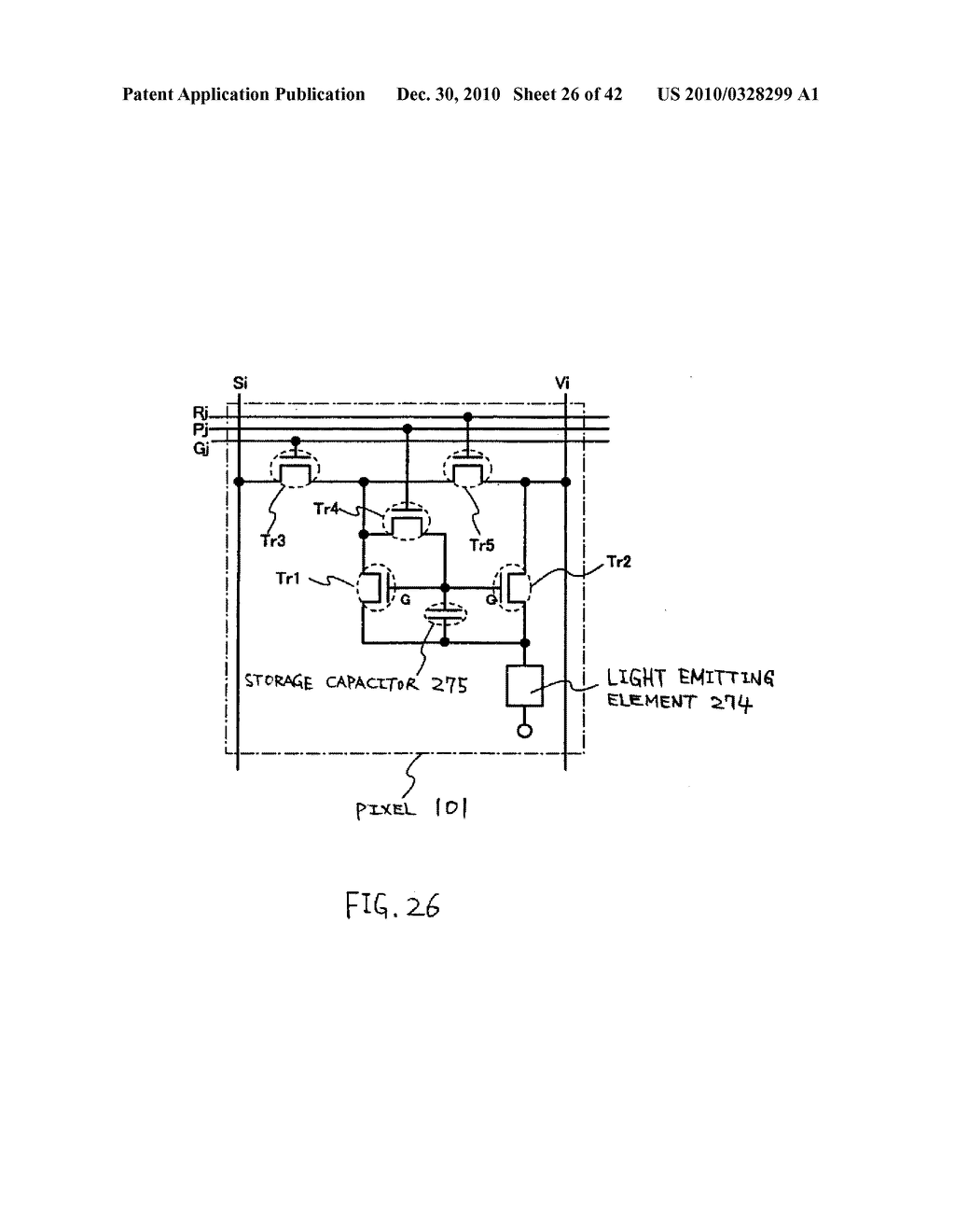 LIGHT EMITTING DEVICE, DRIVING METHOD OF LIGHT EMITTING DEVICE AND ELECTRONIC DEVICE - diagram, schematic, and image 27