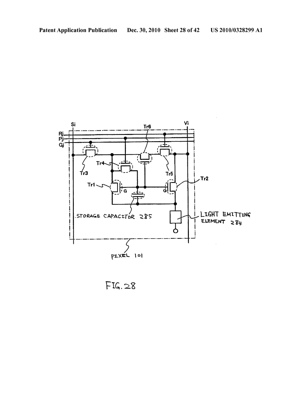 LIGHT EMITTING DEVICE, DRIVING METHOD OF LIGHT EMITTING DEVICE AND ELECTRONIC DEVICE - diagram, schematic, and image 29