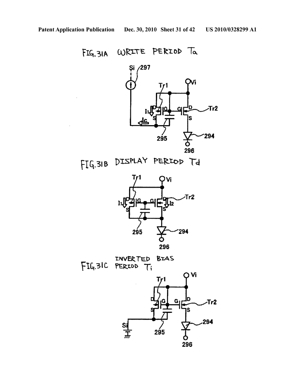LIGHT EMITTING DEVICE, DRIVING METHOD OF LIGHT EMITTING DEVICE AND ELECTRONIC DEVICE - diagram, schematic, and image 32
