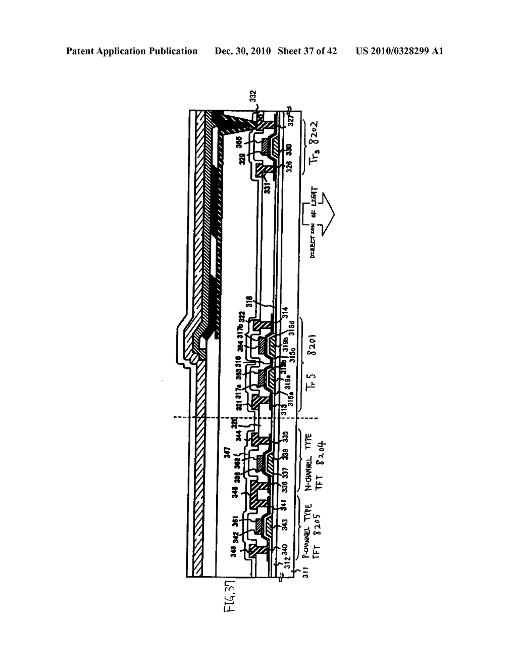 LIGHT EMITTING DEVICE, DRIVING METHOD OF LIGHT EMITTING DEVICE AND ELECTRONIC DEVICE - diagram, schematic, and image 38