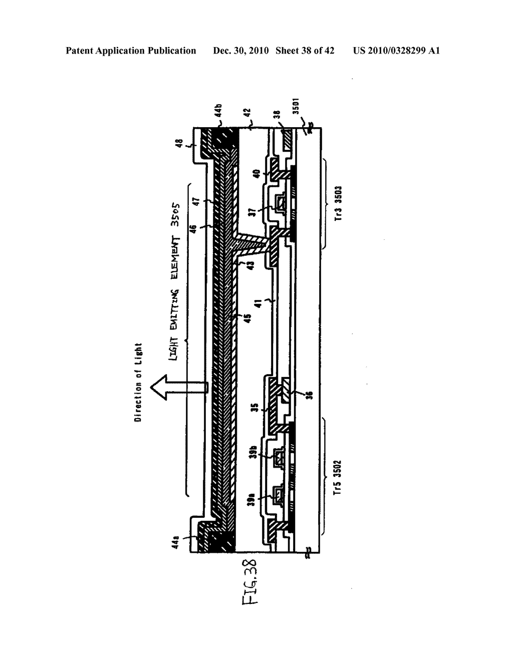 LIGHT EMITTING DEVICE, DRIVING METHOD OF LIGHT EMITTING DEVICE AND ELECTRONIC DEVICE - diagram, schematic, and image 39