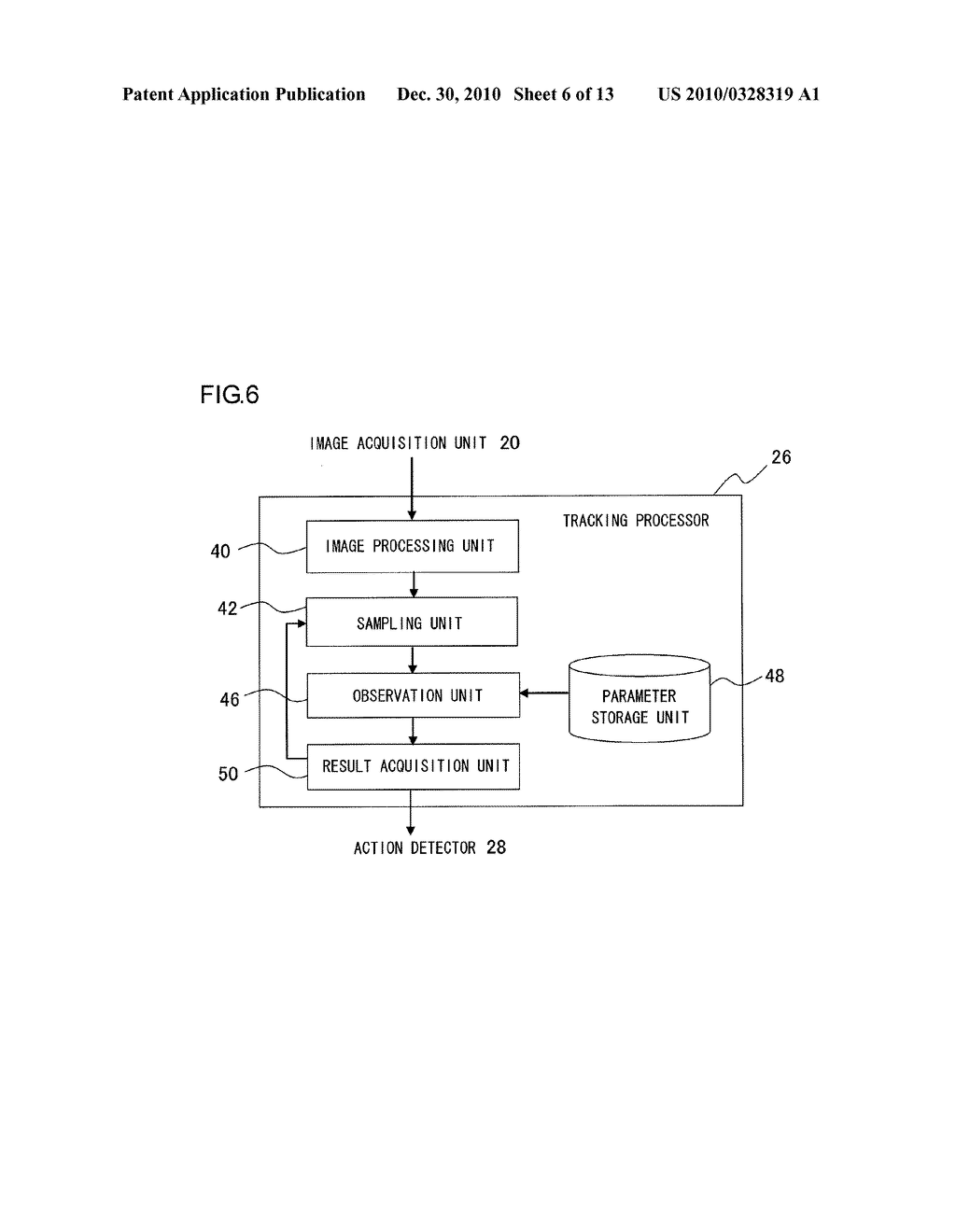 INFORMATION PROCESSOR AND INFORMATION PROCESSING METHOD FOR PERFORMING PROCESS ADAPTED TO USER MOTION - diagram, schematic, and image 07