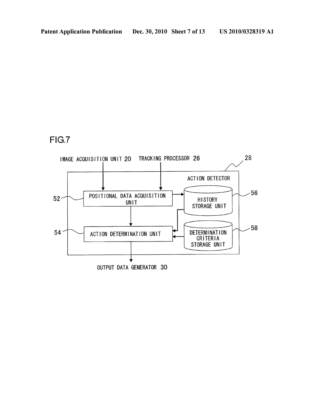 INFORMATION PROCESSOR AND INFORMATION PROCESSING METHOD FOR PERFORMING PROCESS ADAPTED TO USER MOTION - diagram, schematic, and image 08