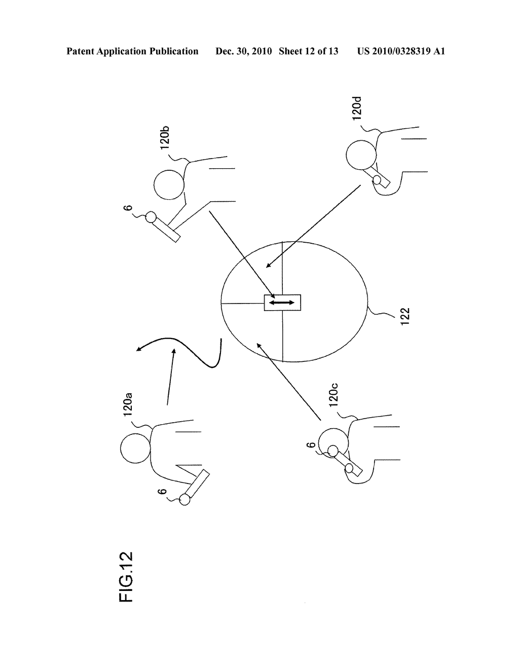 INFORMATION PROCESSOR AND INFORMATION PROCESSING METHOD FOR PERFORMING PROCESS ADAPTED TO USER MOTION - diagram, schematic, and image 13