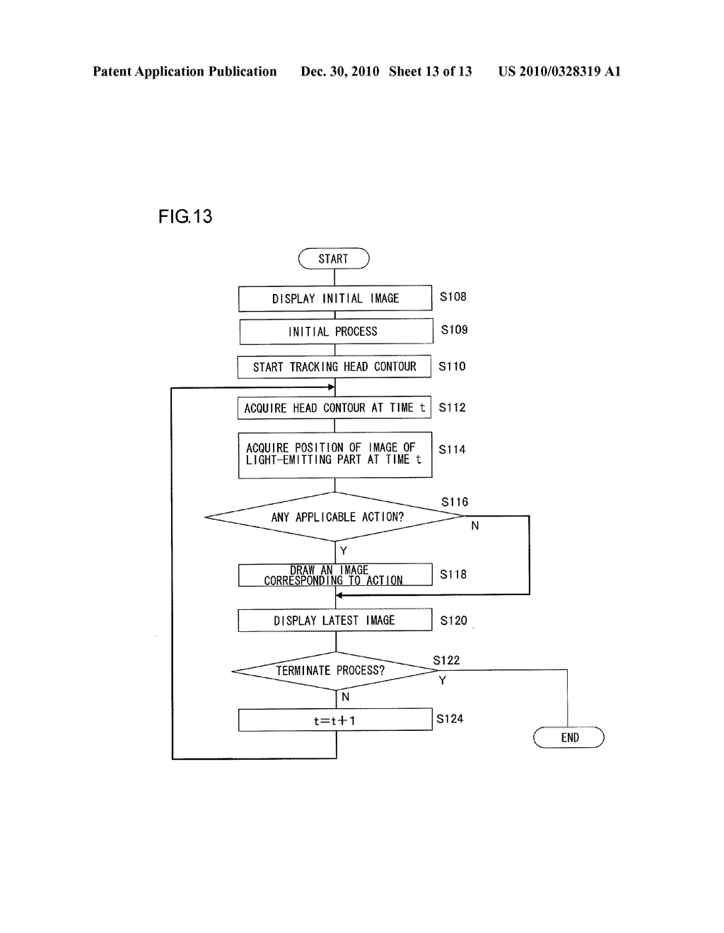 INFORMATION PROCESSOR AND INFORMATION PROCESSING METHOD FOR PERFORMING PROCESS ADAPTED TO USER MOTION - diagram, schematic, and image 14