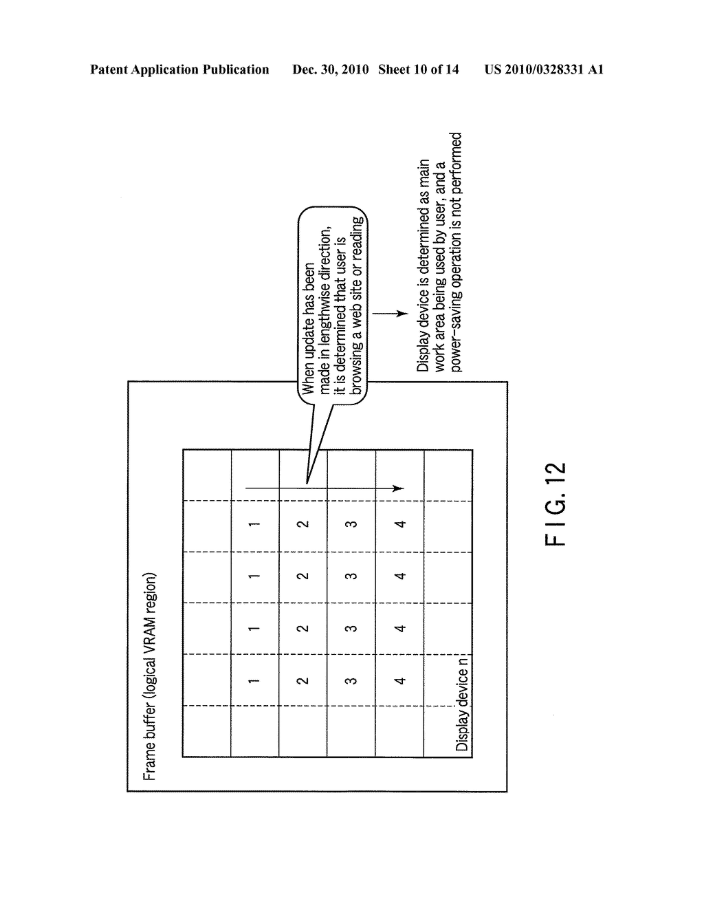 INFORMATION PROCESSING APPARATUS AND DISPLAY CONTROL METHOD - diagram, schematic, and image 11