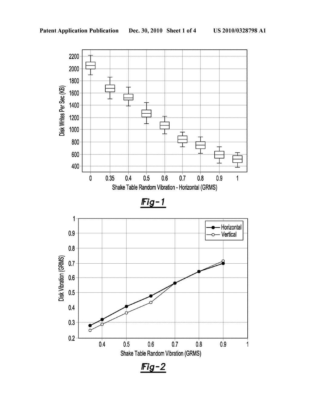 SYSTEM AND METHOD FOR DETERMINING VIBRATION OF AT LEAST ONE HARD DISK DRIVE - diagram, schematic, and image 02
