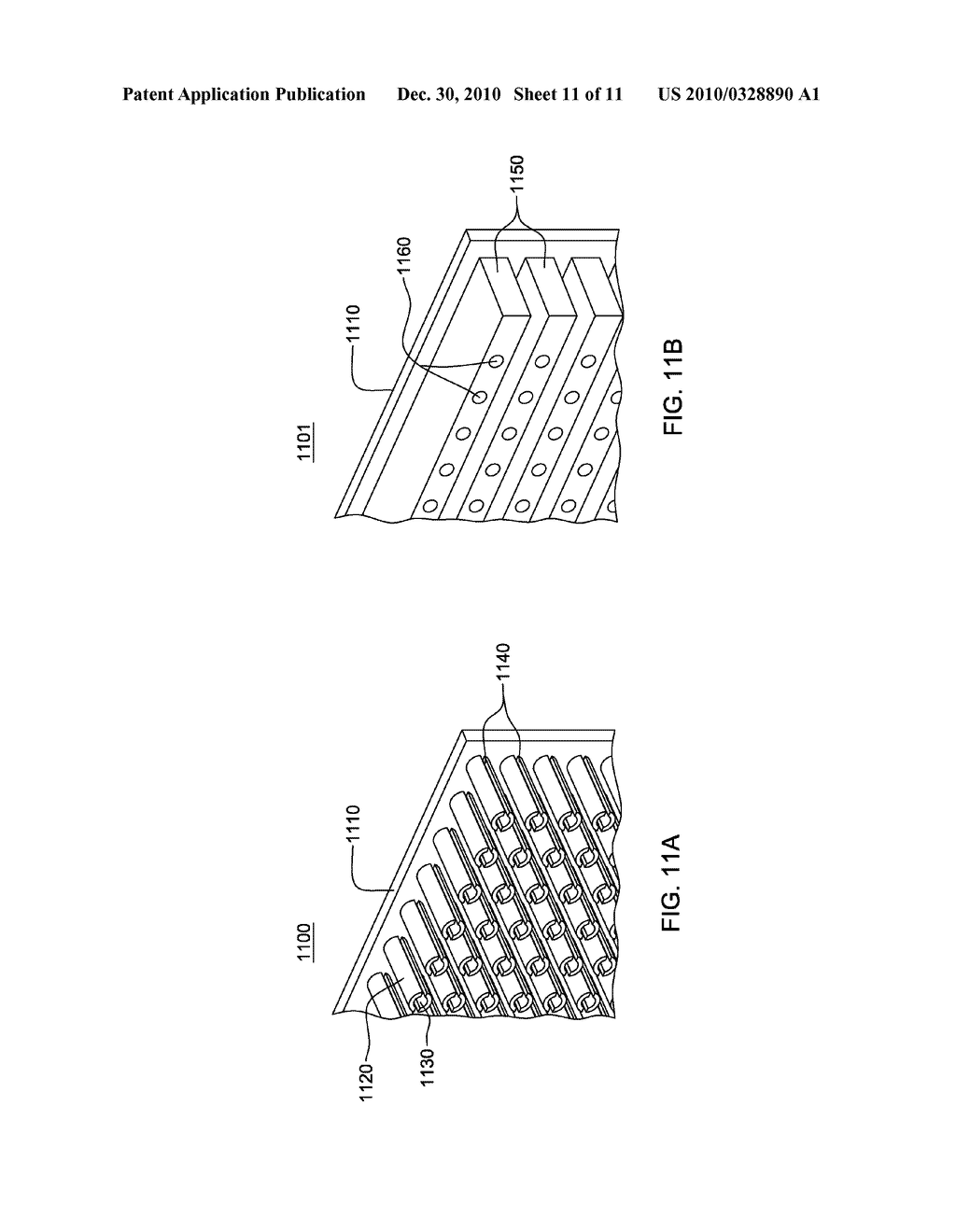 CONDENSER STRUCTURES WITH FIN CAVITIES FACILITATING VAPOR CONDENSATION COOLING OF COOLANT - diagram, schematic, and image 12