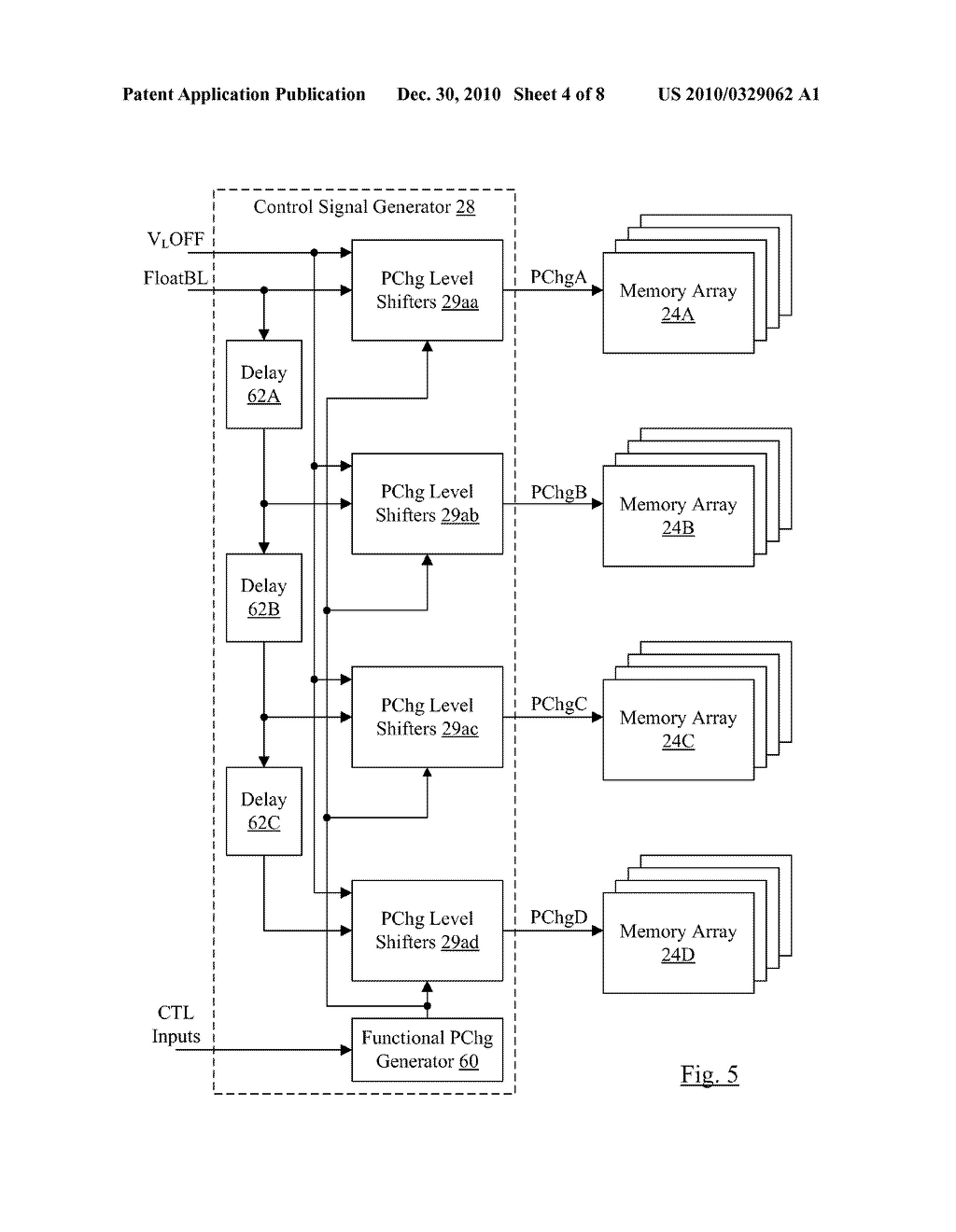 Leakage and NBTI Reduction Technique for Memory - diagram, schematic, and image 05