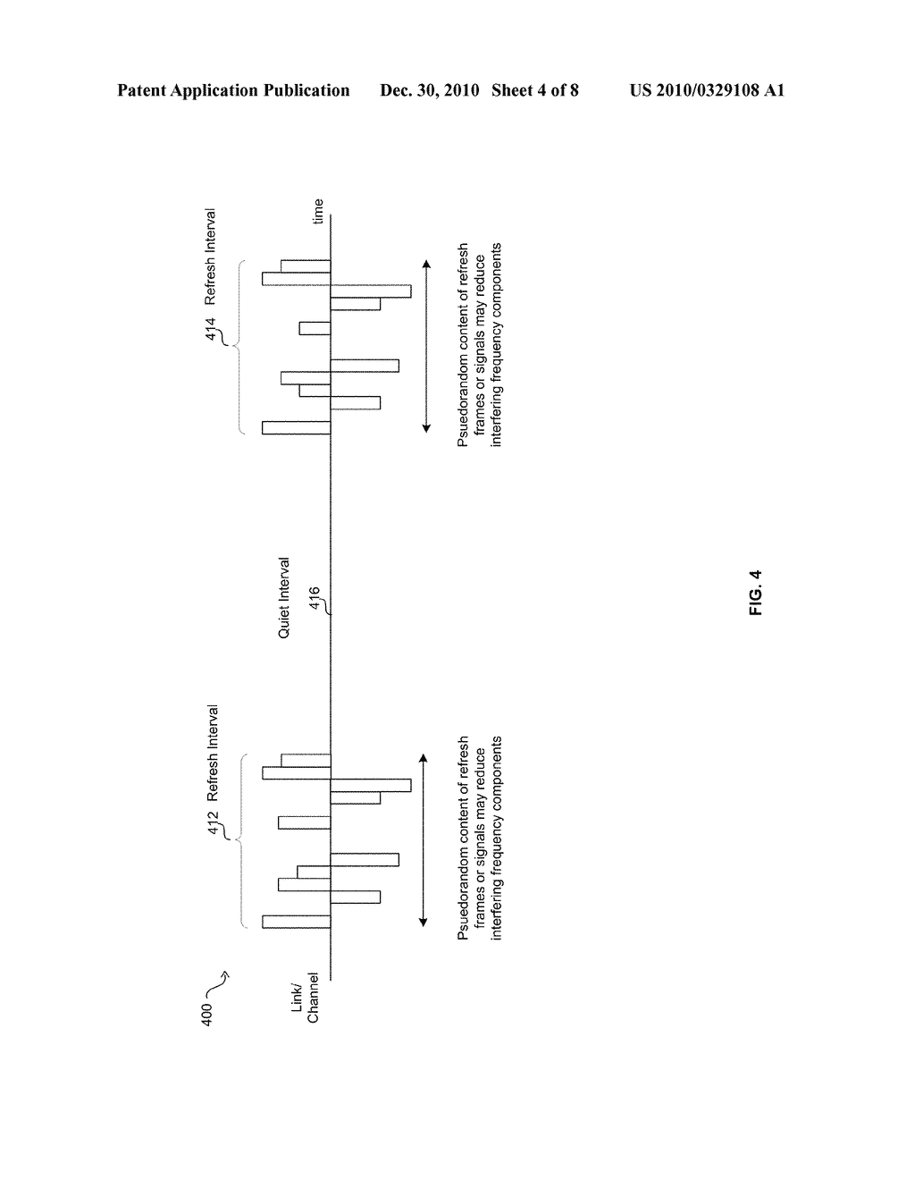 Method And System For Jitter And Frame Balance And/Or Rebalance For EEE Refresh Cycles - diagram, schematic, and image 05