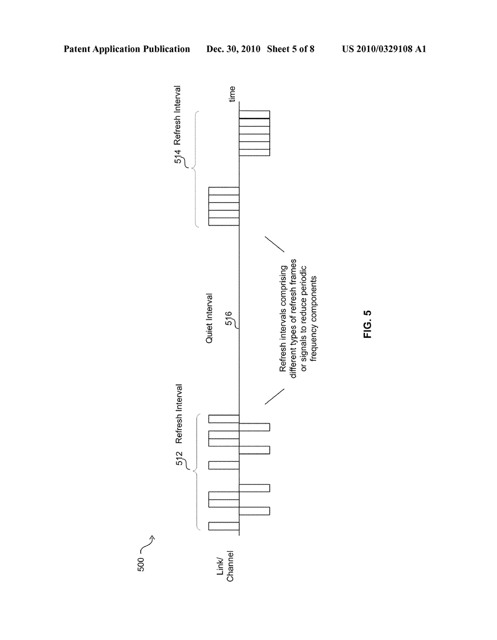 Method And System For Jitter And Frame Balance And/Or Rebalance For EEE Refresh Cycles - diagram, schematic, and image 06