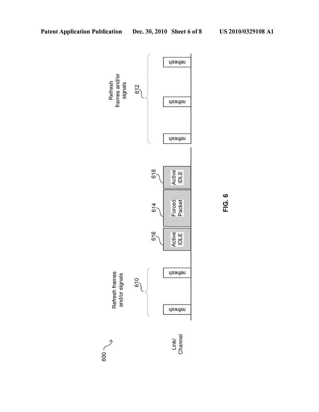 Method And System For Jitter And Frame Balance And/Or Rebalance For EEE Refresh Cycles - diagram, schematic, and image 07