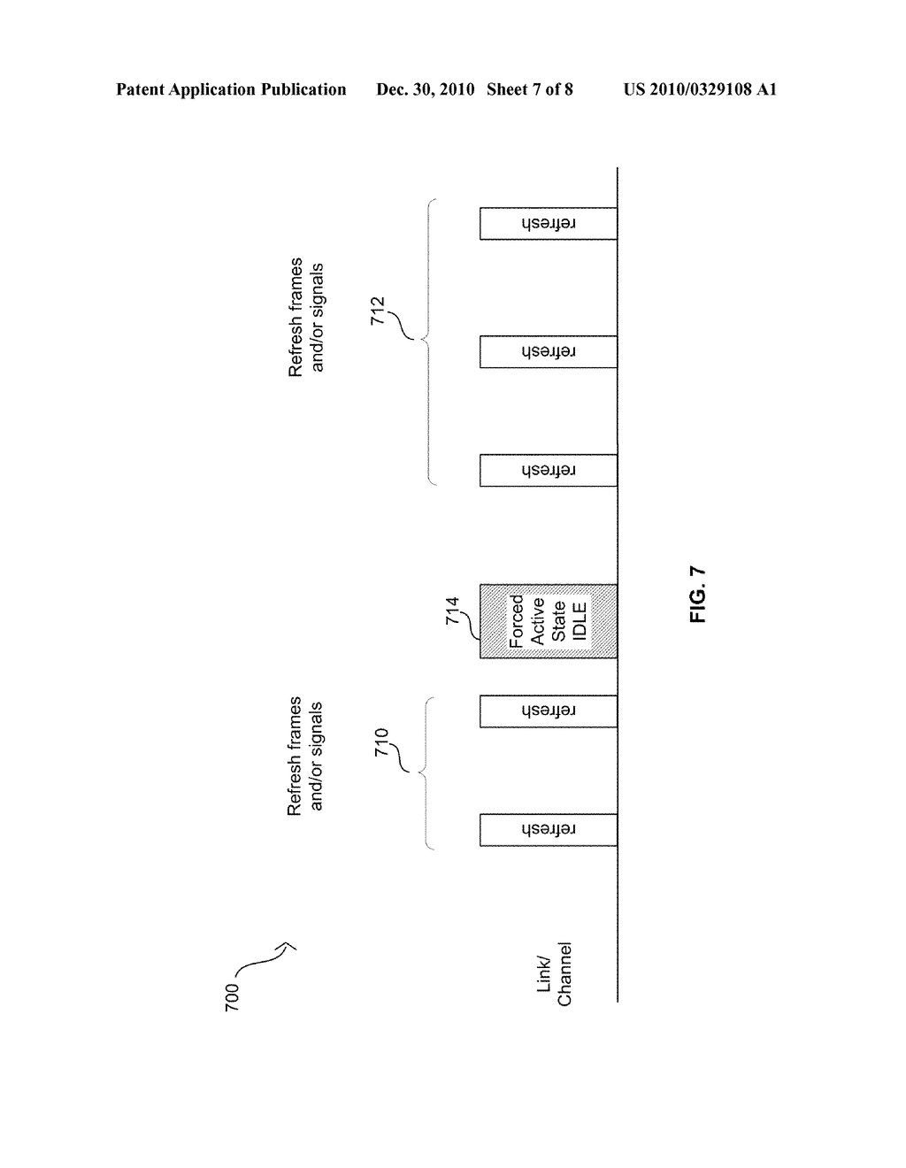 Method And System For Jitter And Frame Balance And/Or Rebalance For EEE Refresh Cycles - diagram, schematic, and image 08