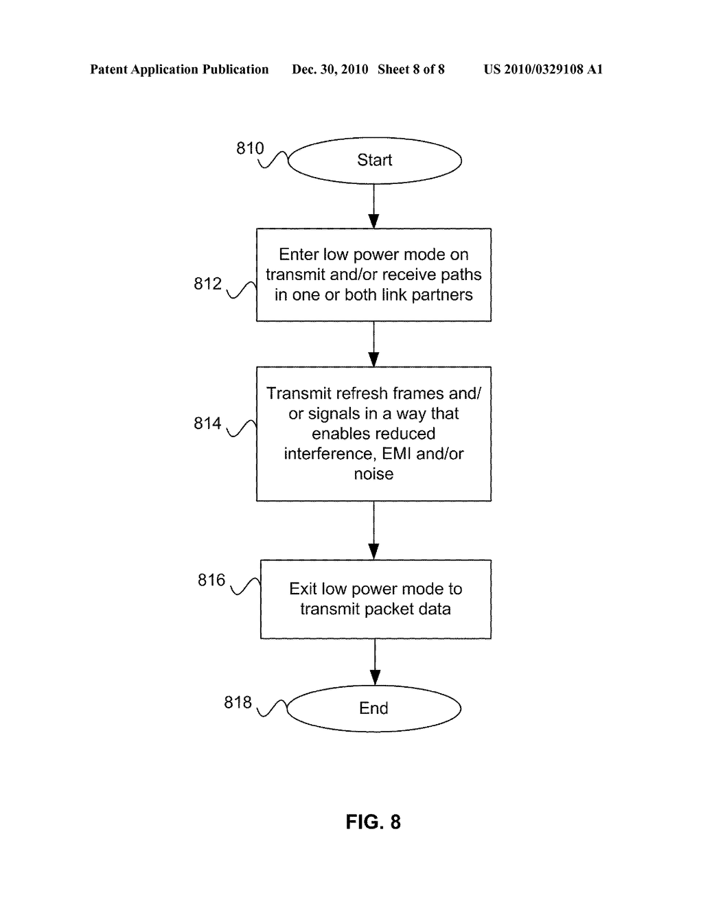 Method And System For Jitter And Frame Balance And/Or Rebalance For EEE Refresh Cycles - diagram, schematic, and image 09