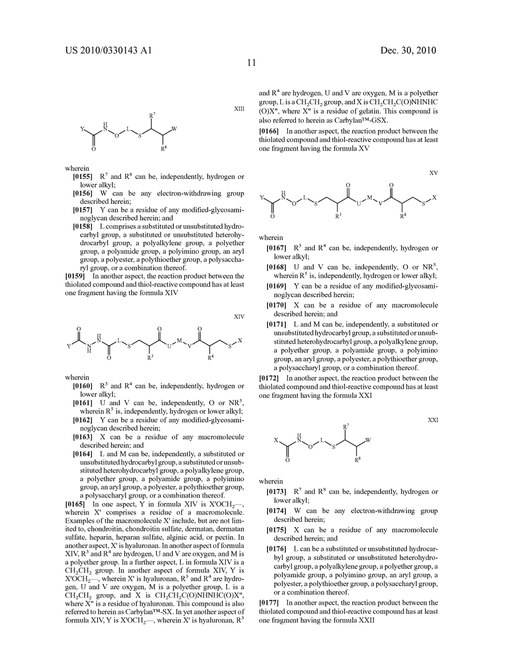 MODIFIED MACROMOLECULES AND METHODS OF MAKING AND USING THEREOF - diagram, schematic, and image 47