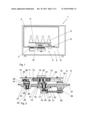 INCUBATOR COMPRISING A SHAKING DEVICE diagram and image