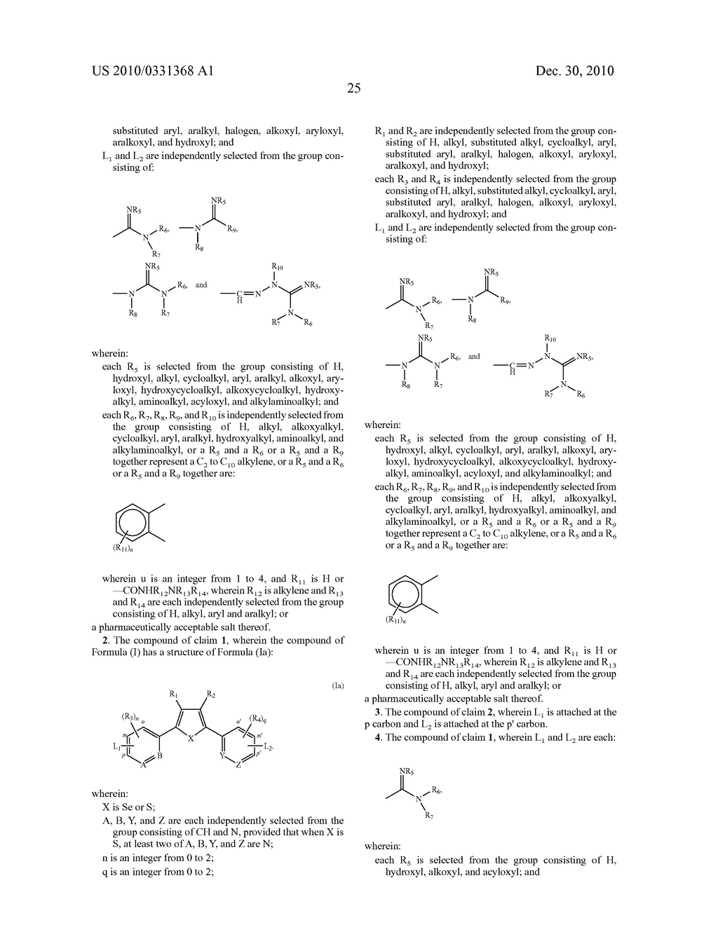 2,5-DIARYL SELENOPHENE COMPOUNDS, AZA 2,5-DIARYL THIOPHENE COMPOUNDS, AND THEIR PRODRUGS AS ANTIPROTOZOAL AGENTS - diagram, schematic, and image 26