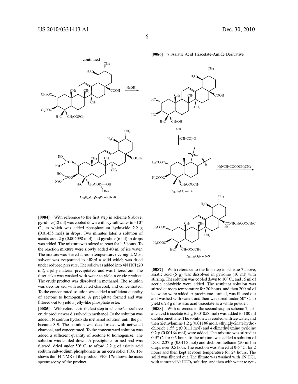 Therapeutic Formulations Based on Asiatic Acid and Selected Salts Thereof - diagram, schematic, and image 39