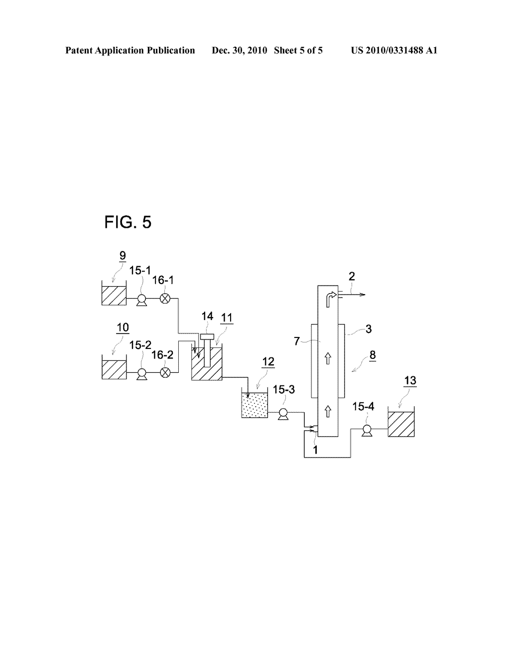 TUBULAR FLOW REACTOR AND METHOD FOR PRODUCING RESIN PARTICLE USING THE SAME - diagram, schematic, and image 06