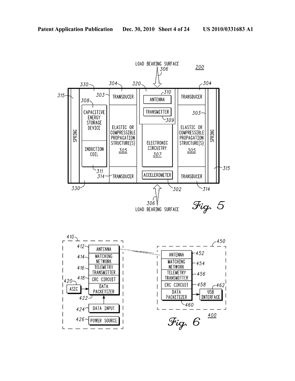 SENSING MODULE FOR ORTHOPEDIC LOAD SENSING INSERT DEVICE - diagram, schematic, and image 05
