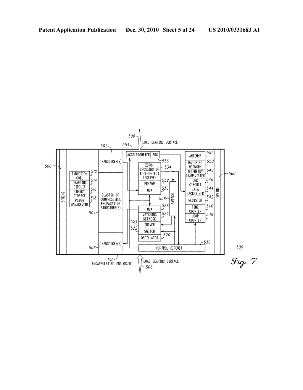 SENSING MODULE FOR ORTHOPEDIC LOAD SENSING INSERT DEVICE - diagram, schematic, and image 06