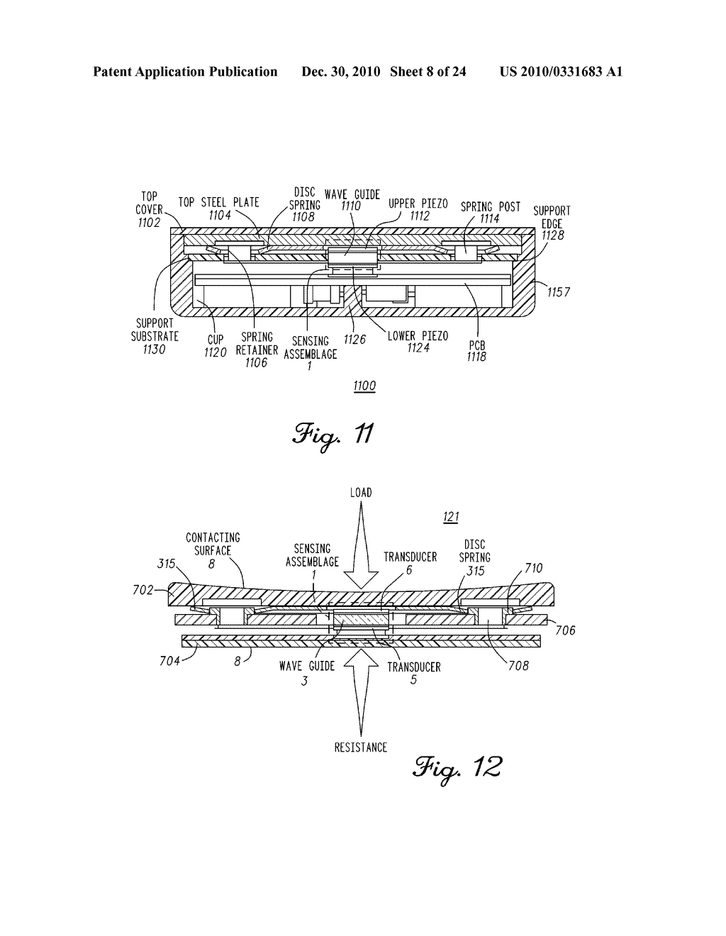 SENSING MODULE FOR ORTHOPEDIC LOAD SENSING INSERT DEVICE - diagram, schematic, and image 09