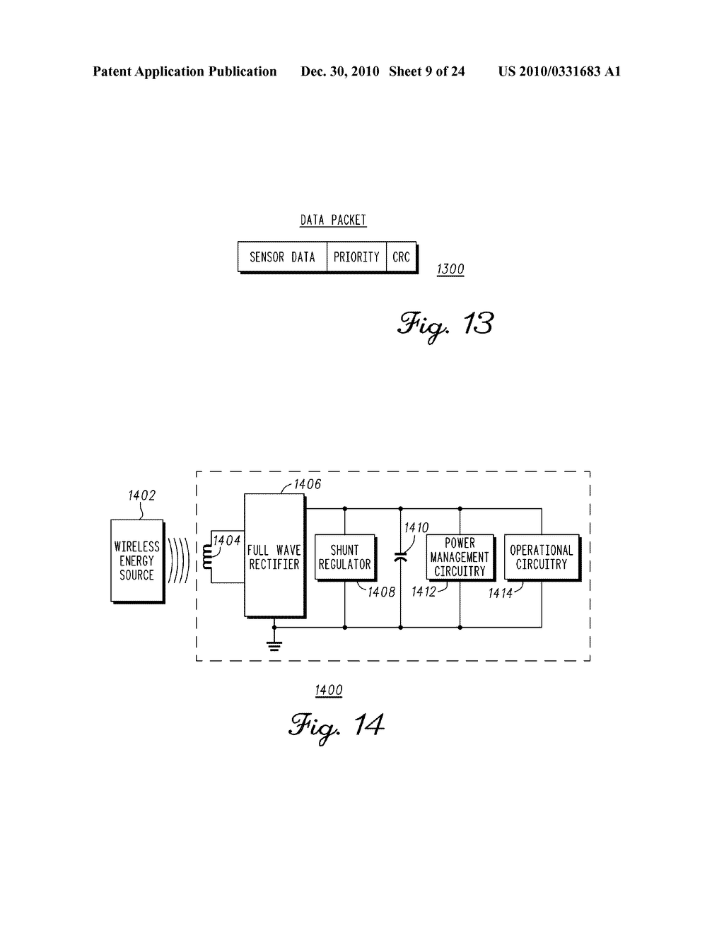 SENSING MODULE FOR ORTHOPEDIC LOAD SENSING INSERT DEVICE - diagram, schematic, and image 10