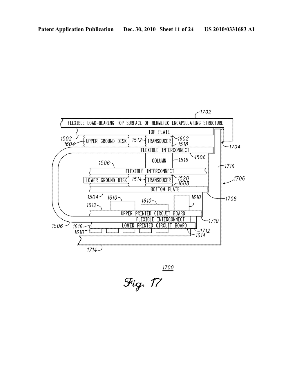 SENSING MODULE FOR ORTHOPEDIC LOAD SENSING INSERT DEVICE - diagram, schematic, and image 12