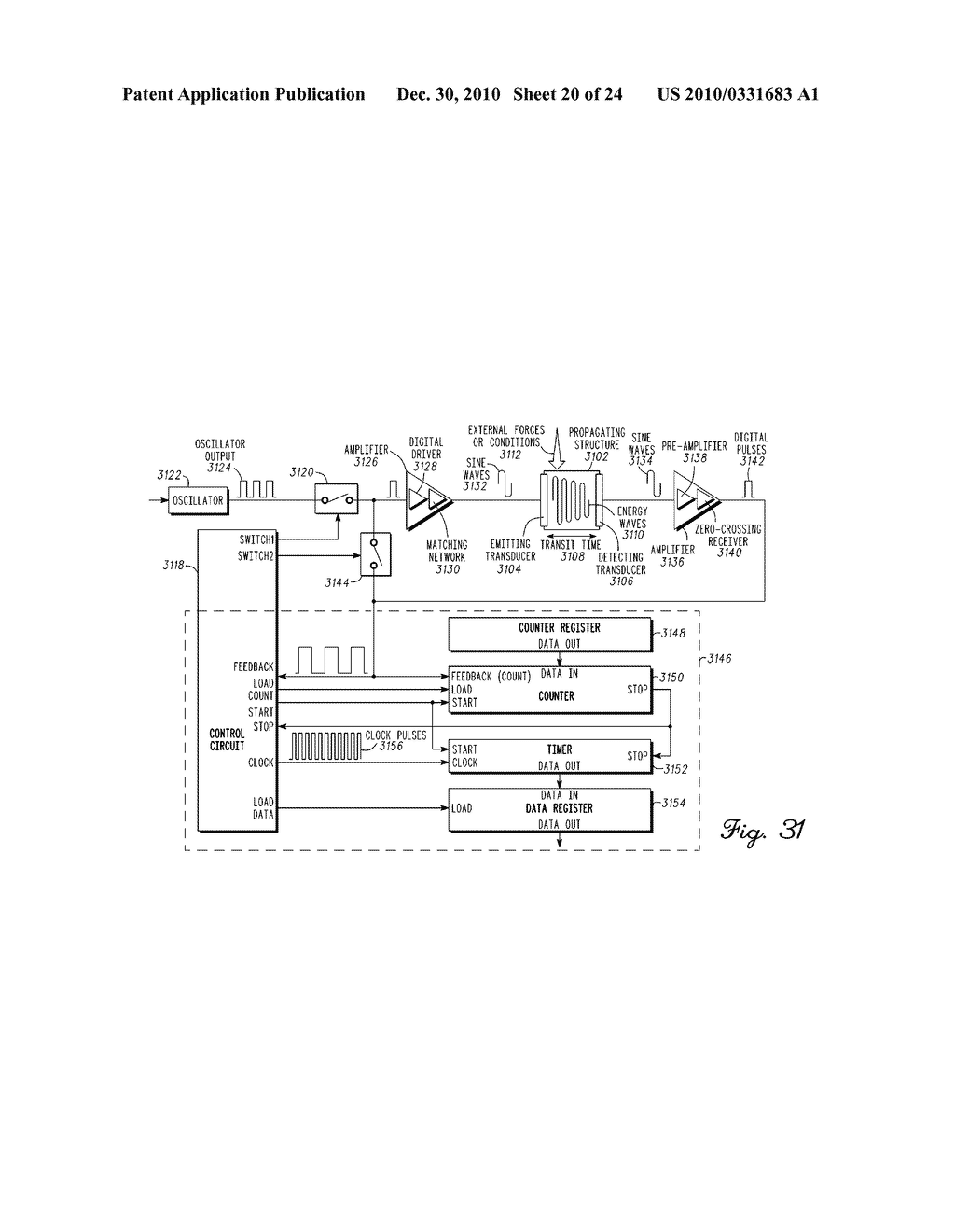 SENSING MODULE FOR ORTHOPEDIC LOAD SENSING INSERT DEVICE - diagram, schematic, and image 21