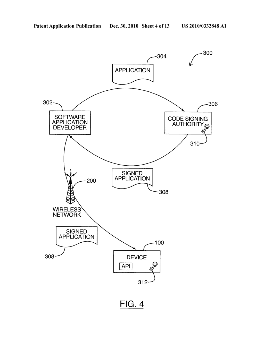 SYSTEM AND METHOD FOR CODE SIGNING - diagram, schematic, and image 05