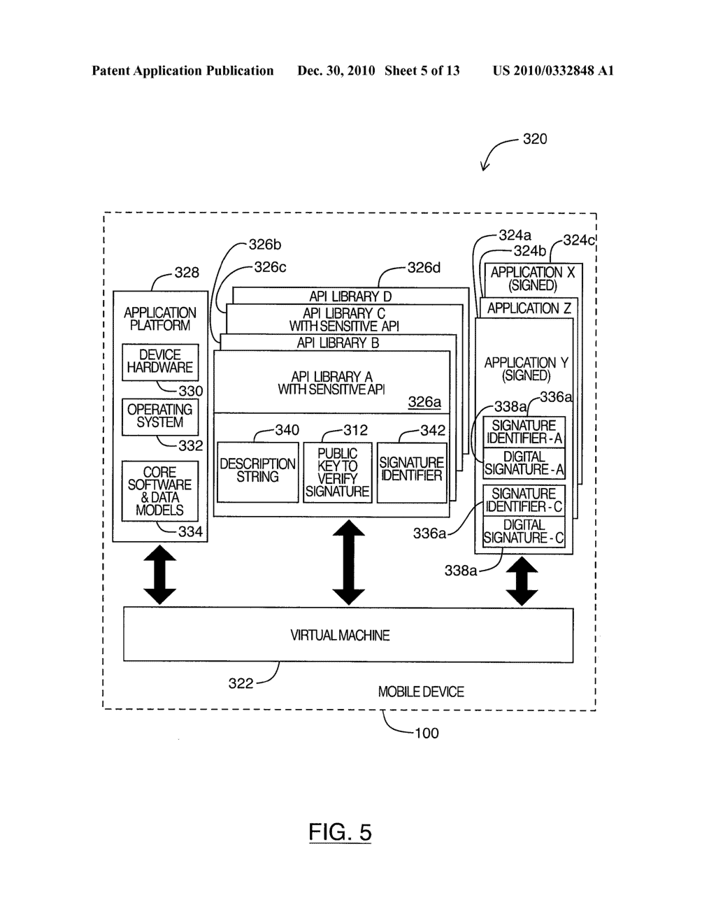 SYSTEM AND METHOD FOR CODE SIGNING - diagram, schematic, and image 06