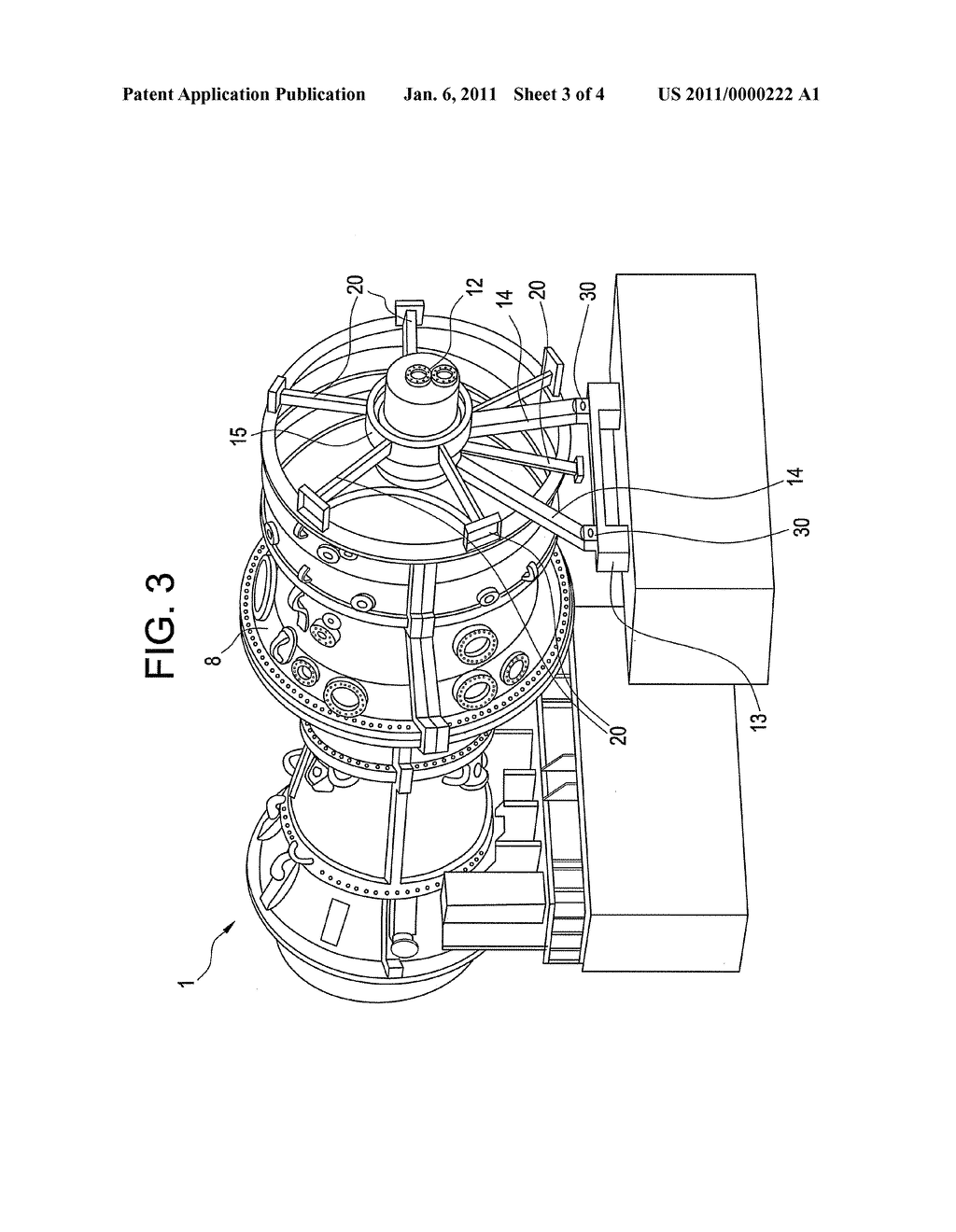 gas turbine rotor stator support system diagram schematic and Rotor and Stator gas turbine rotor stator support system diagram schematic and image 04
