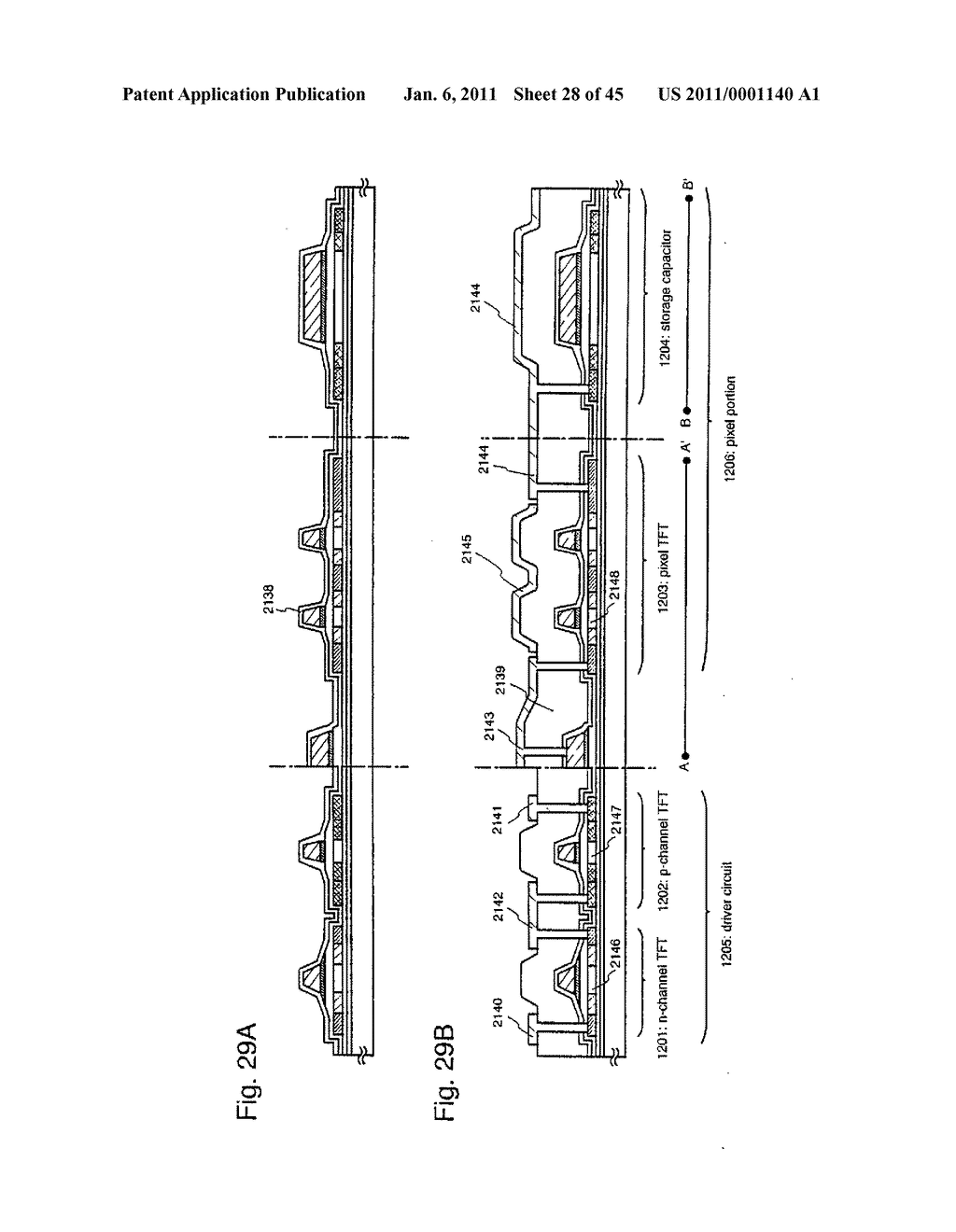 SEMICONDUCTOR DEVICE AND METHOD OF MANUFACTURING SAME - diagram, schematic, and image 29