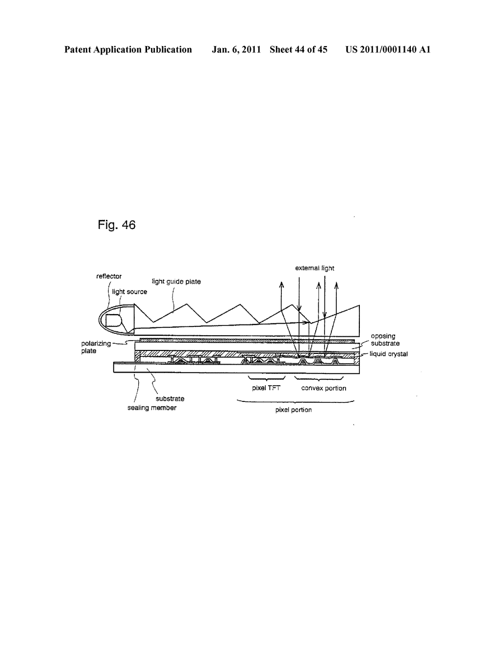 SEMICONDUCTOR DEVICE AND METHOD OF MANUFACTURING SAME - diagram, schematic, and image 45
