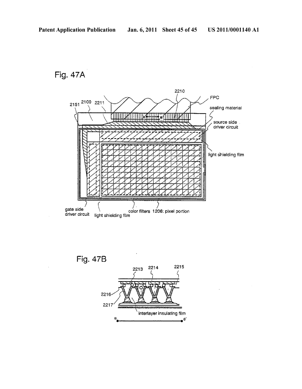 SEMICONDUCTOR DEVICE AND METHOD OF MANUFACTURING SAME - diagram, schematic, and image 46