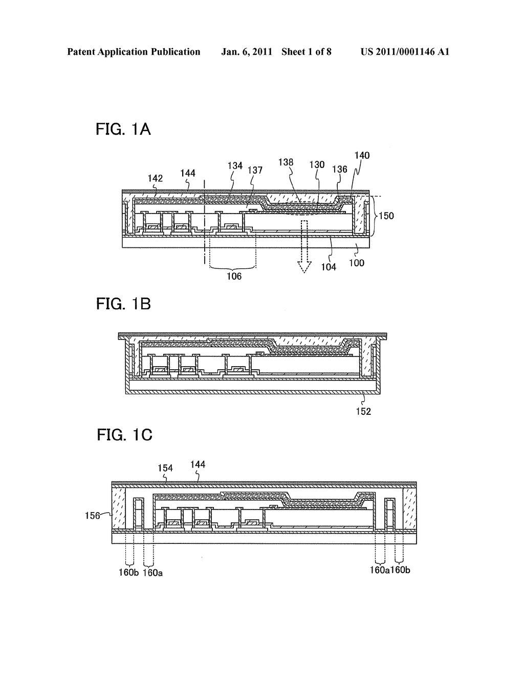 Light-Emitting Device, Lighting Device, and Electronic Device - diagram, schematic, and image 02