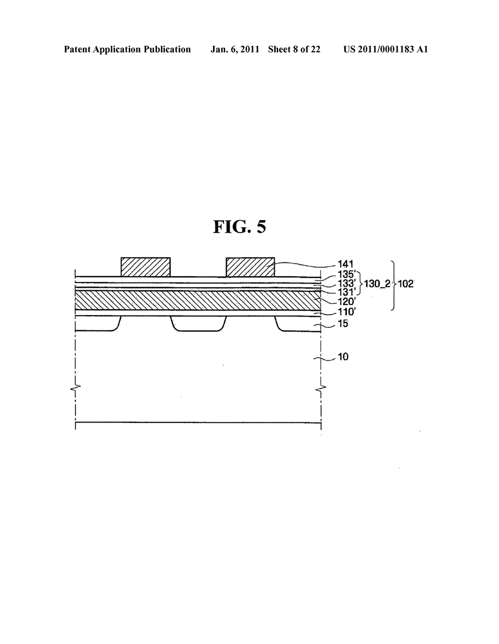 Memory device and method of fabricating the same - diagram, schematic, and image 09
