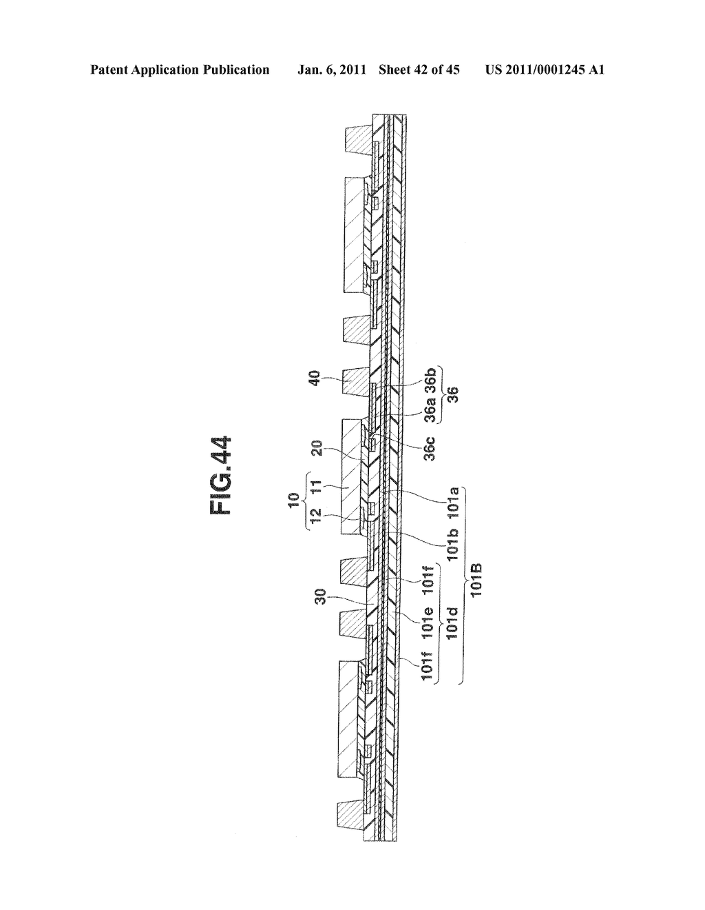 SEMICONDUCTOR DEVICE INCLUDING SEALING FILM FOR ENCAPSULATING SEMICONDUCTOR CHIP AND PROJECTION ELECTRODES AND MANUFACTURING METHOD THEREOF - diagram, schematic, and image 43