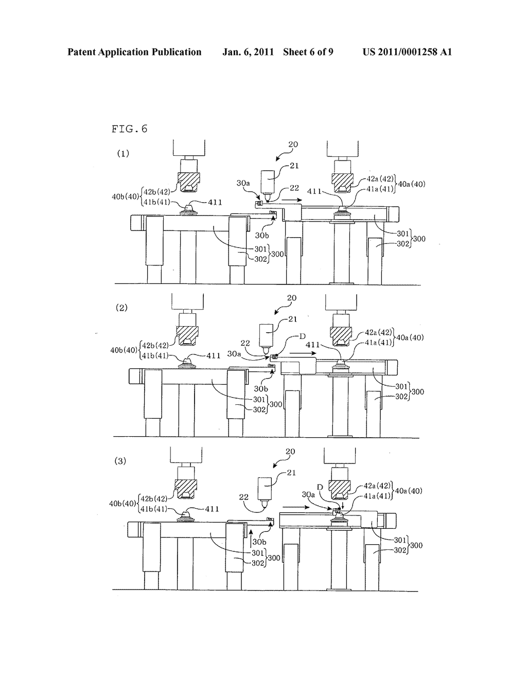 MOLTEN RESIN SUPPLY METHOD, MOLTEN RESIN SUPPLY DEVICE, MOLTEN RESIN COMPRESSION MOLDING METHOD, MOLTEN RESIN COMPRESSION MOLDING DEVICE, AND SYNTHETIC RESIN CONTAINER MANUFACTURING METHOD - diagram, schematic, and image 07