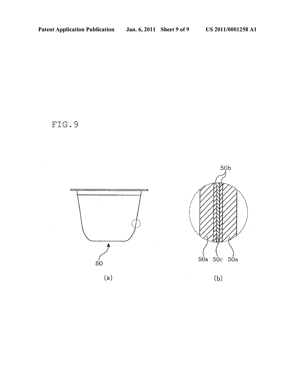 MOLTEN RESIN SUPPLY METHOD, MOLTEN RESIN SUPPLY DEVICE, MOLTEN RESIN COMPRESSION MOLDING METHOD, MOLTEN RESIN COMPRESSION MOLDING DEVICE, AND SYNTHETIC RESIN CONTAINER MANUFACTURING METHOD - diagram, schematic, and image 10