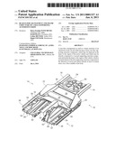 REAR FLOOR ARANGEMENT AND FRAME STRUCTURE OF A SELF-SUPPORTING AUTOMOTIVE BODY diagram and image