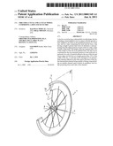 TIRE FOR A CYCLE AND A CYCLE WHEEL COMPRISING A RIM AND SUCH TIRE diagram and image