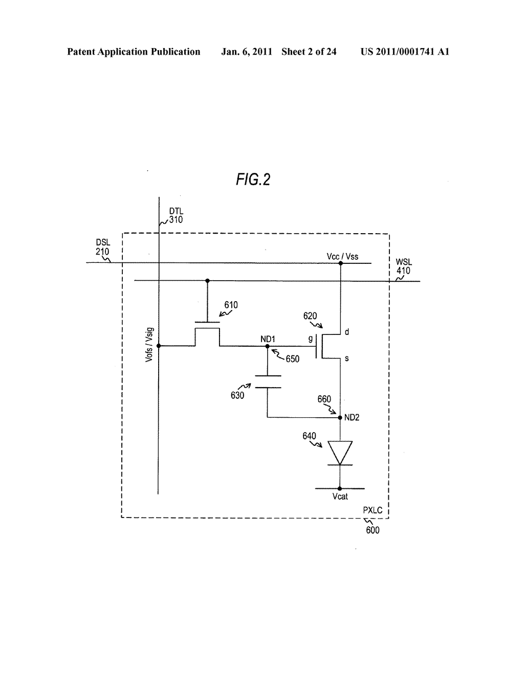 Display device and electronic apparatus - diagram, schematic, and image 03