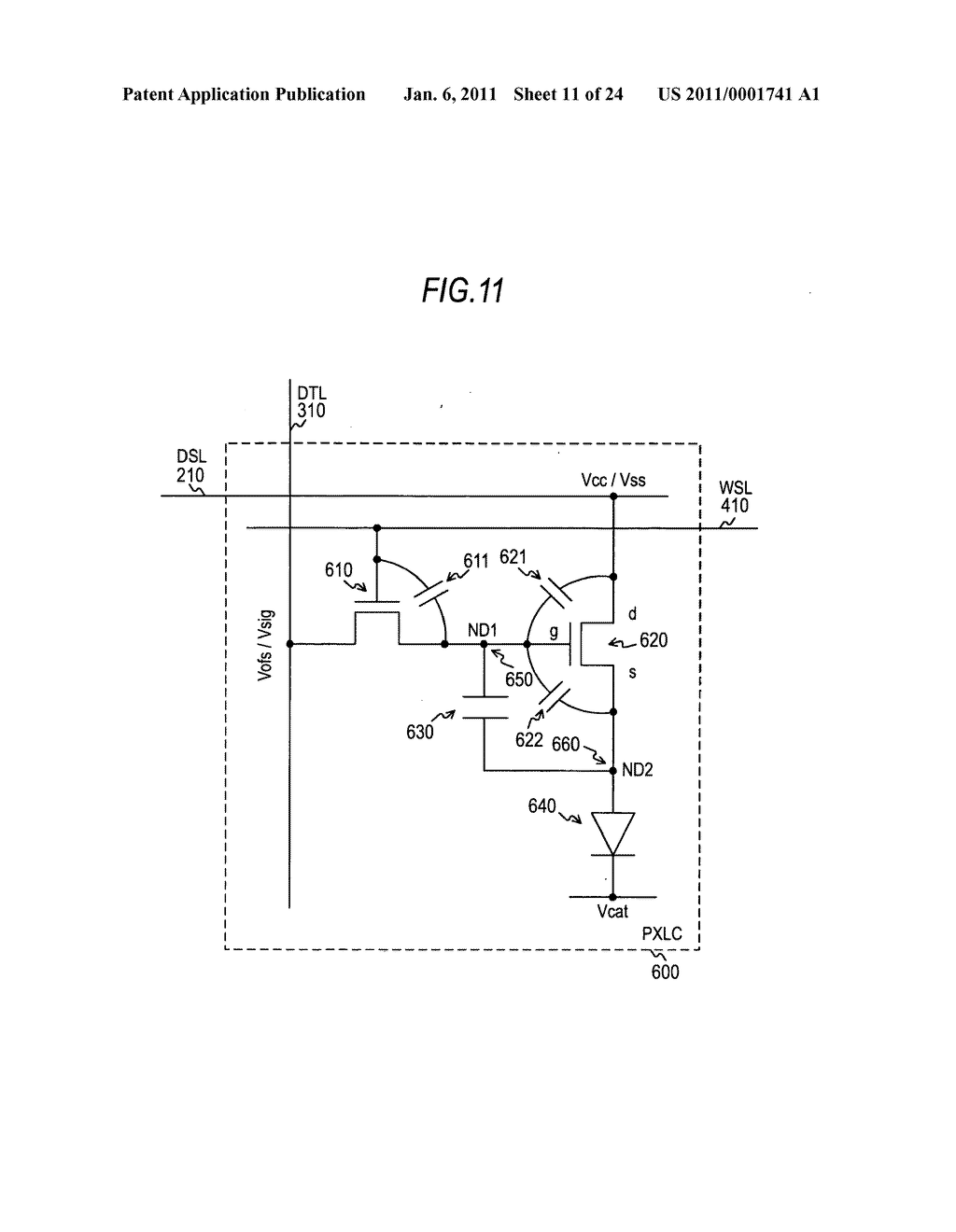 Display device and electronic apparatus - diagram, schematic, and image 12