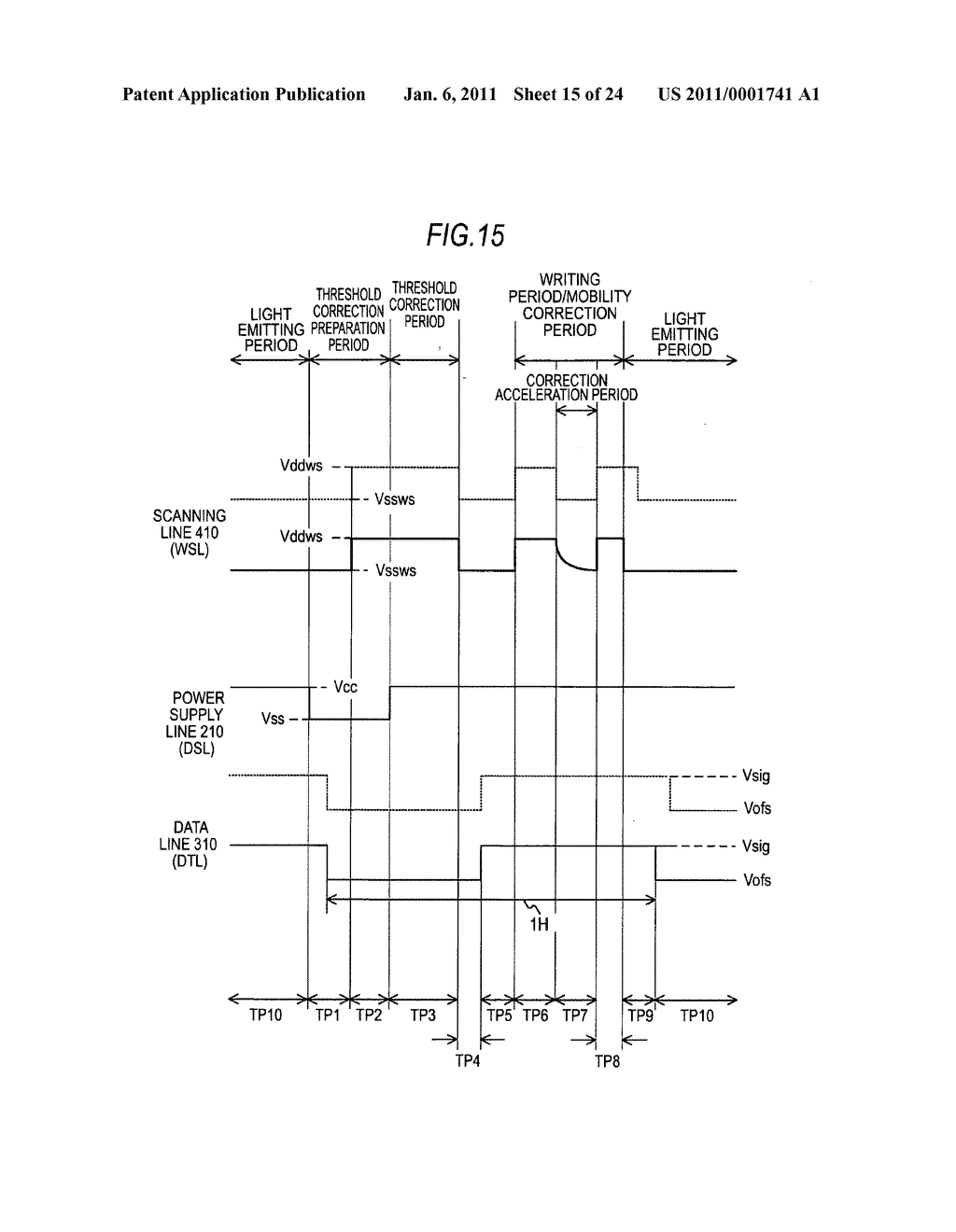 Display device and electronic apparatus - diagram, schematic, and image 16
