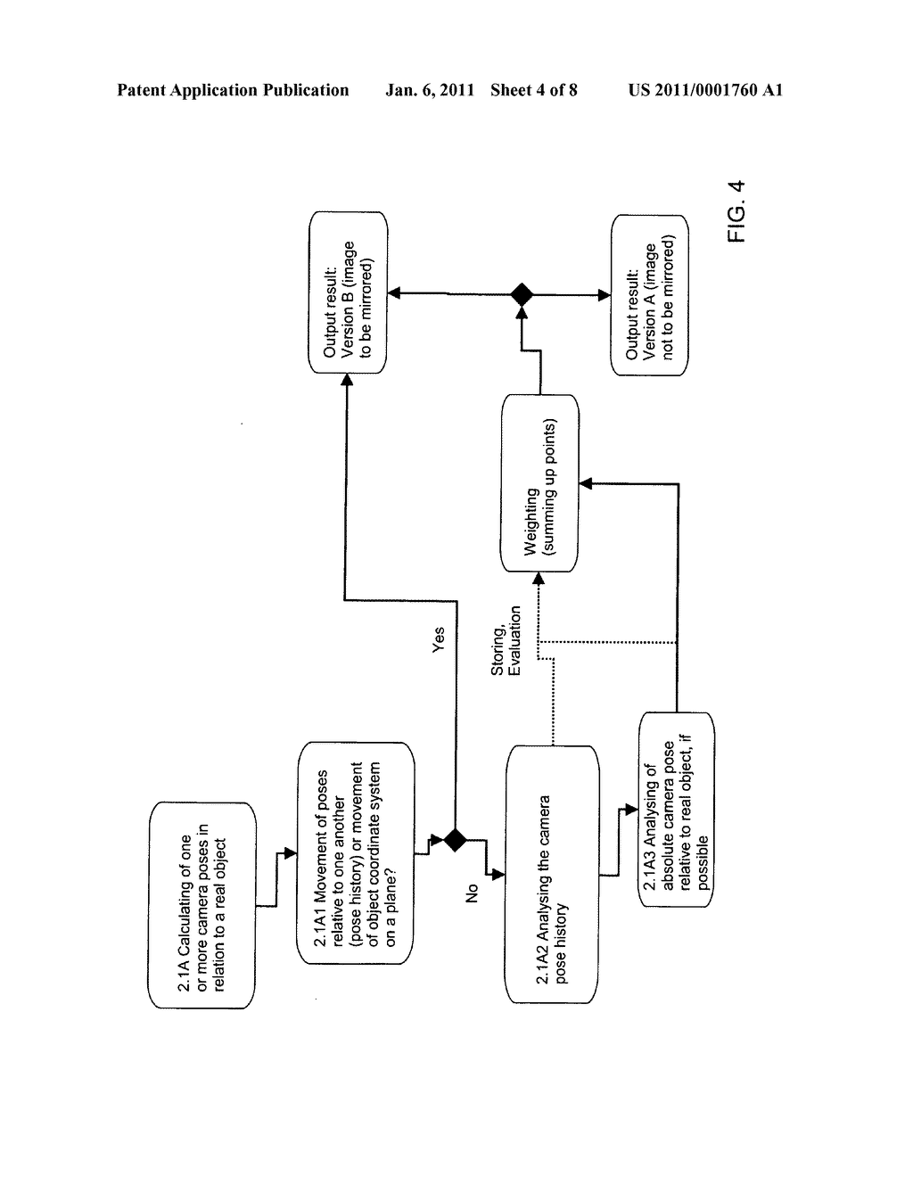 METHOD AND SYSTEM FOR DISPLAYING AN IMAGE GENERATED BY AT LEAST ONE CAMERA - diagram, schematic, and image 05