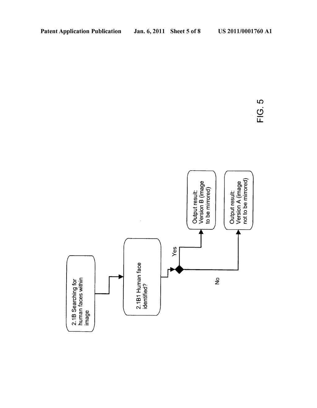 METHOD AND SYSTEM FOR DISPLAYING AN IMAGE GENERATED BY AT LEAST ONE CAMERA - diagram, schematic, and image 06