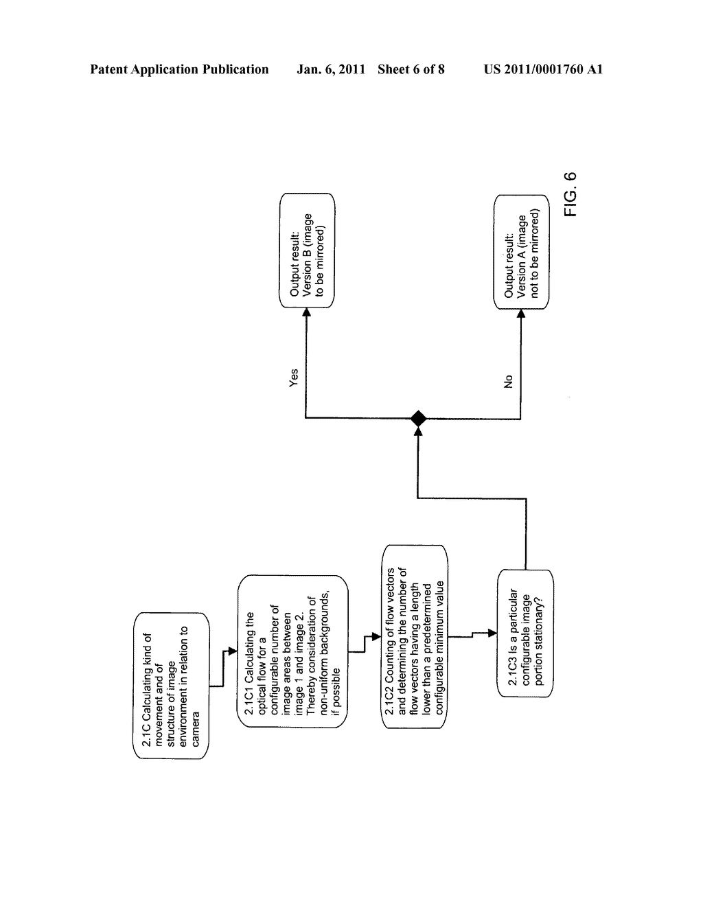 METHOD AND SYSTEM FOR DISPLAYING AN IMAGE GENERATED BY AT LEAST ONE CAMERA - diagram, schematic, and image 07